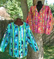 strip quilted jacket pattern | pic quilted jacket sweatshirt ... : quilted sweatshirt jacket instructions - Adamdwight.com