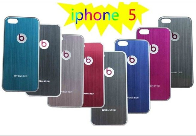 Fashion Design Brushed Aluminum B Case Back Cover For The Iphone 5 Aluminum Iphone 5 Cases Iphone 5 Cases Ipho Cheap Iphone Cases Iphone 5s Covers Iphone