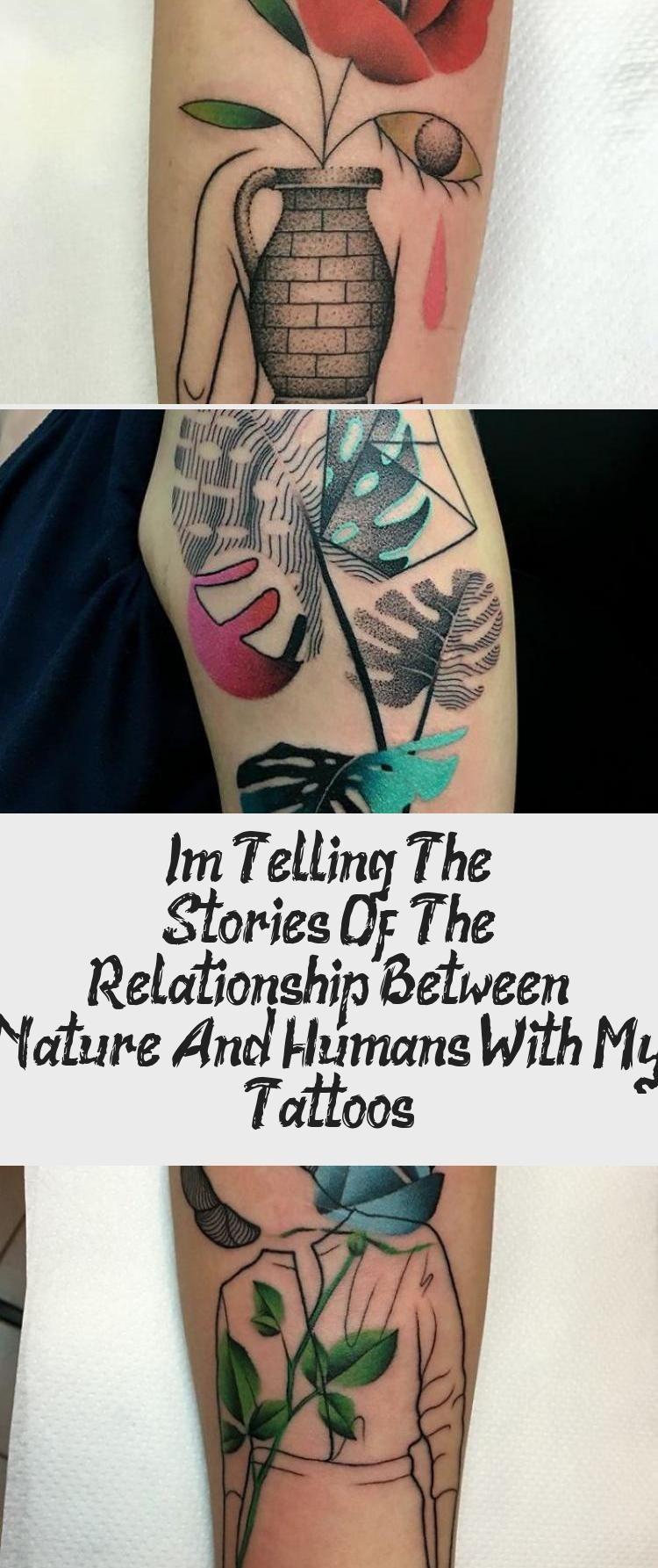Ich erzähle die Geschichten über die Beziehung zwischen Natur und Mensch mit meinen Tätowierungen – ART