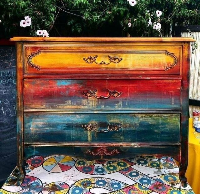 Photo of 37+ The true story about furniture painted by gypsies that the experts don't want … – UPCYCLING IDEAS