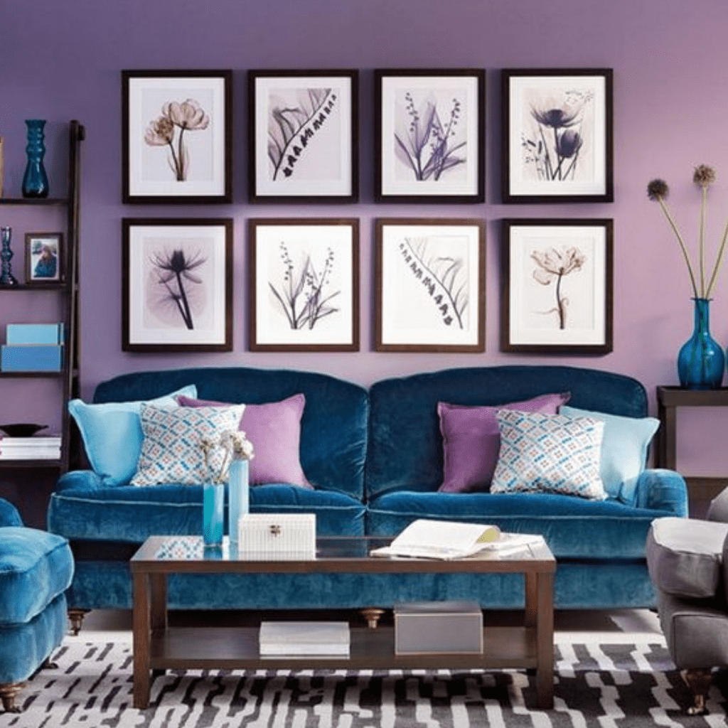 Account Suspended Peacock Blue Living Room Lilac Living R