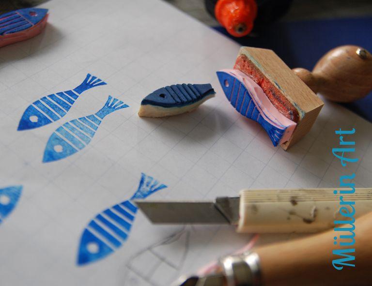 Stempel Selbst Herstellen : stempel selbst herstellen stencils and stamps ~ Watch28wear.com Haus und Dekorationen