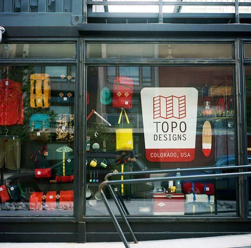 All Modern Store: Topo Designs Flagship Store Denver CO