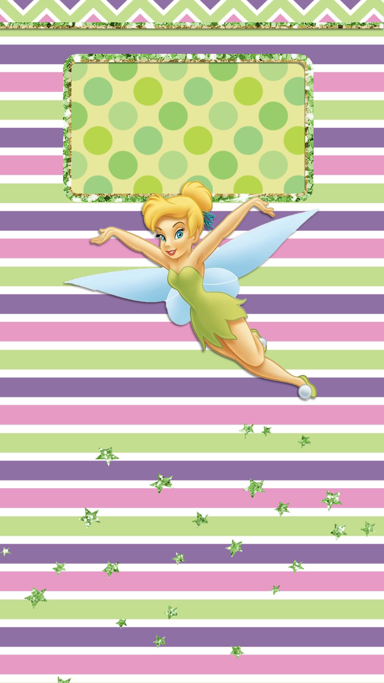 Tinkerbell Lockscreen Wallpaper Tinkerbell Wallpaper Character Wallpaper Iphone Background Disney