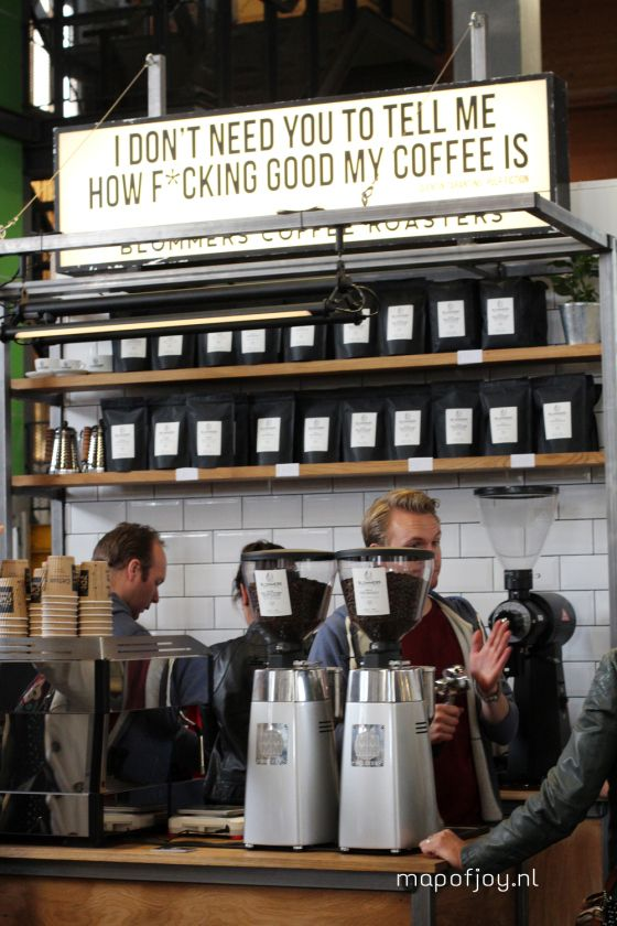 Amsterdam Coffee Festival 2015 report - Map of Joy