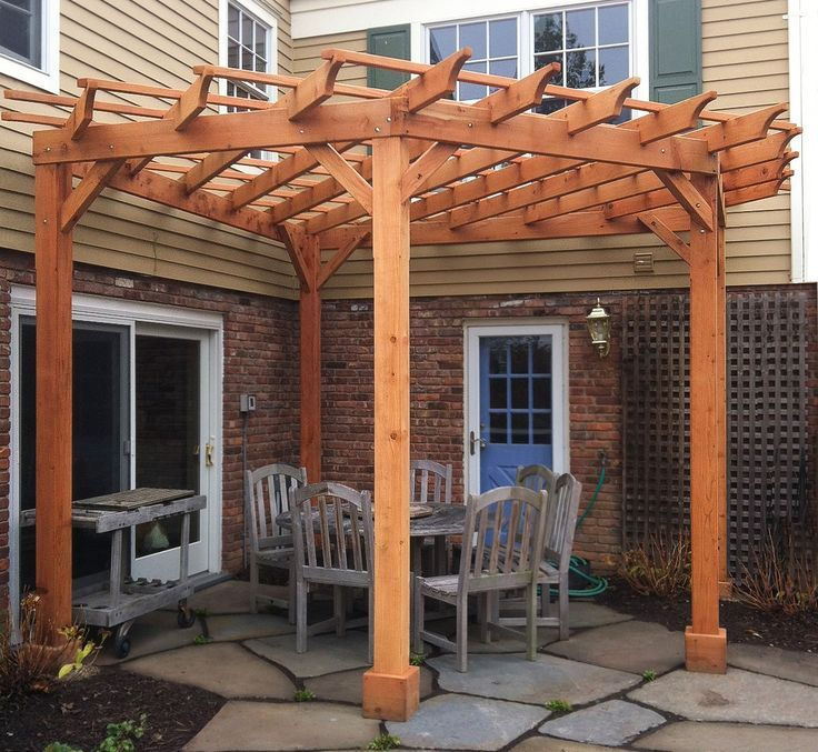 Pergola Wall Design: Image Result For Wall Attached Radial Pergola