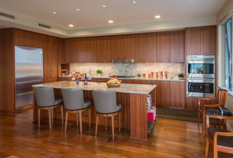 sapele cabinets | Kitchen remodel, Walnut cabinets, Kitchen