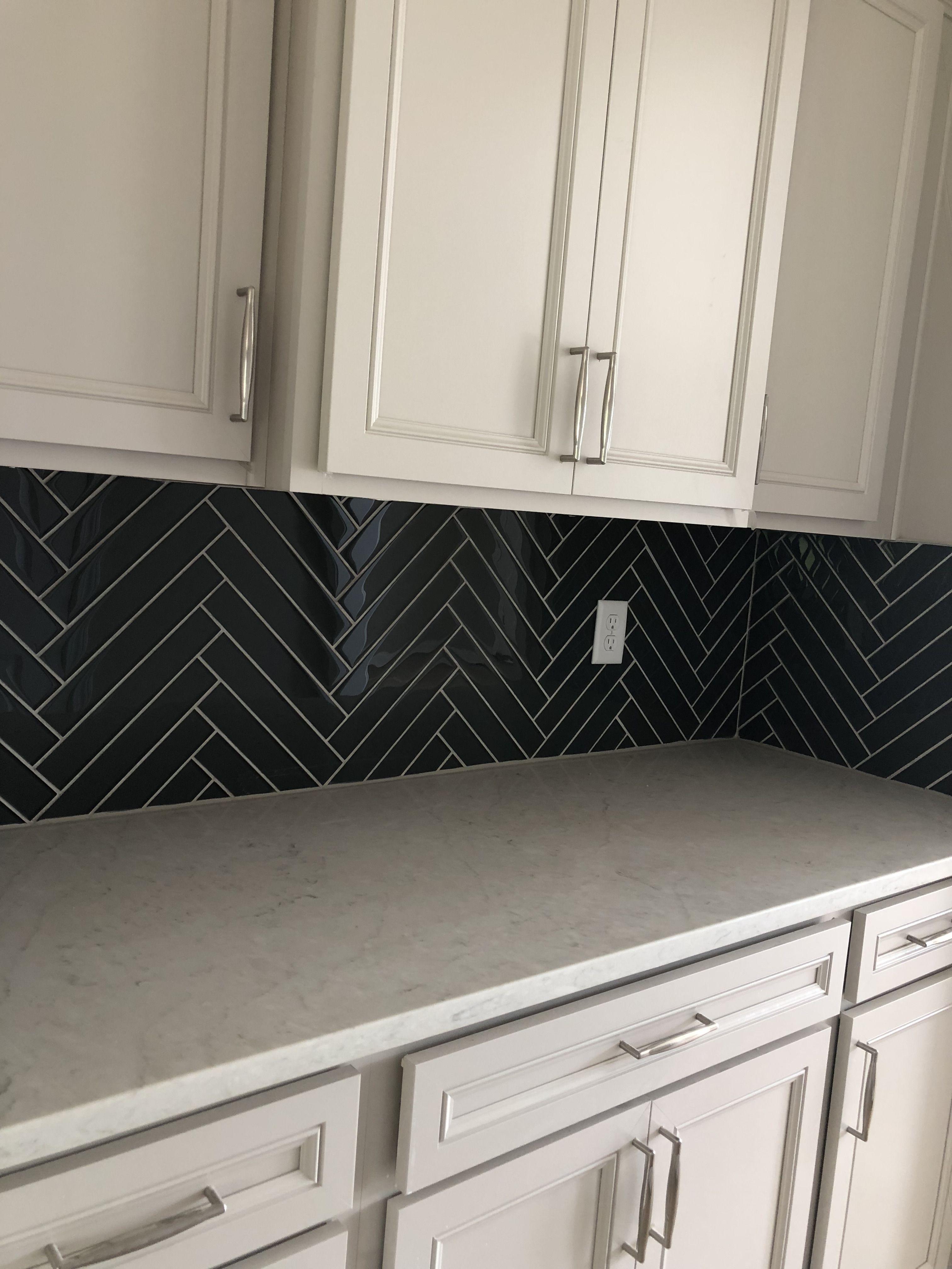 color wave 2x12 top hat glass tiles