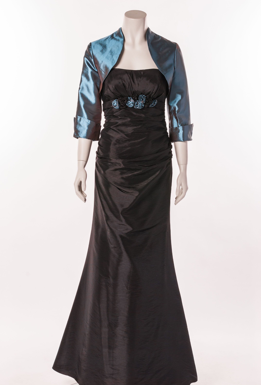 Valérie Edles Kleid Abendkleid Elegantes Der Schwarzes Linie