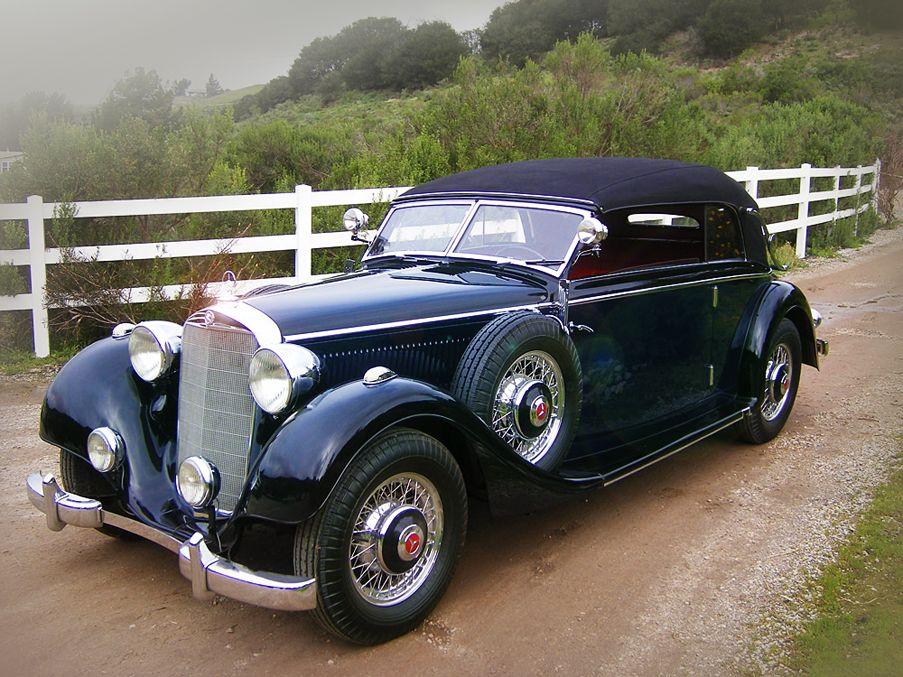 1937 Mercedes-Benz 320 Cabriolet B.    More information: http://bit.ly/HRHrrE