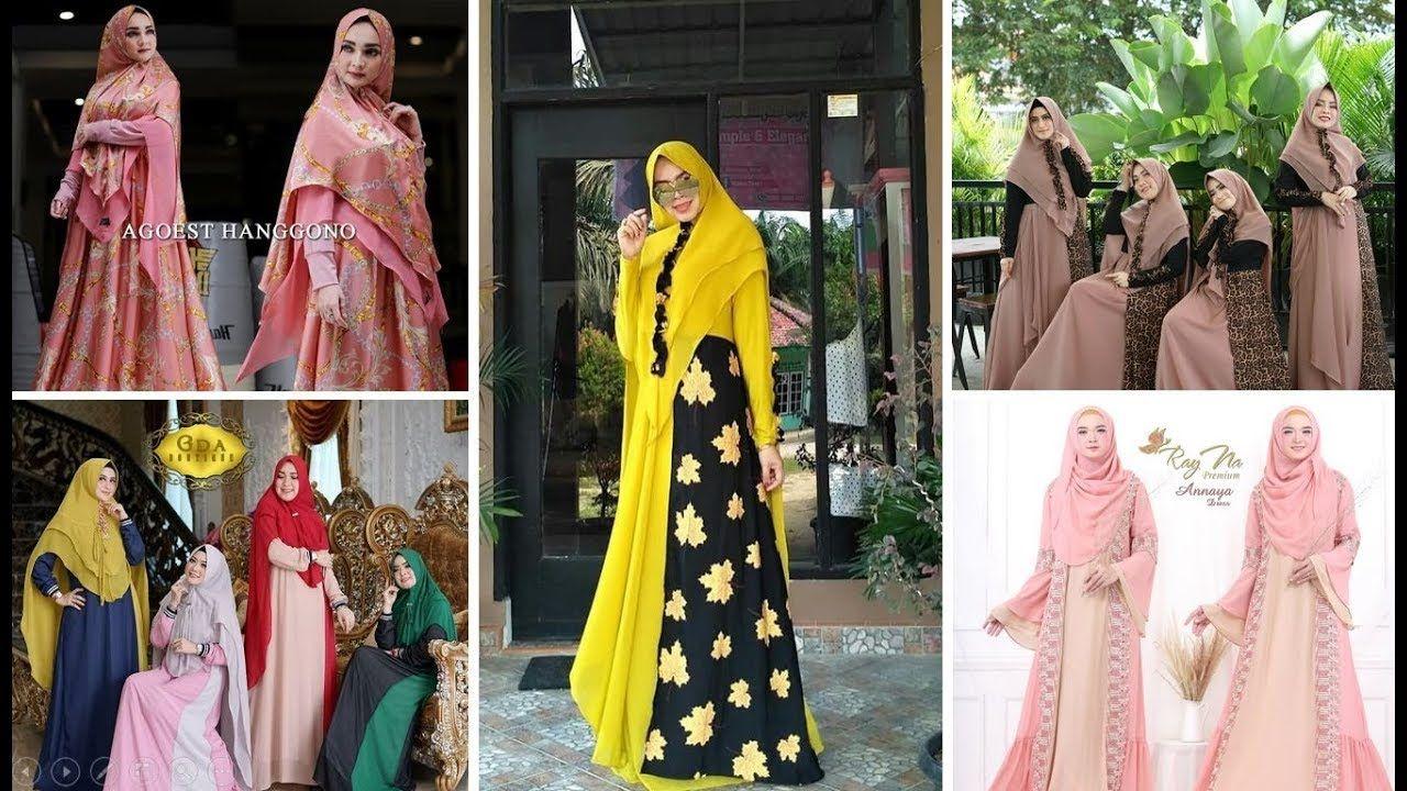 Dress Syari Style 11  Gaya busana, Wanita, Kebaya muslim