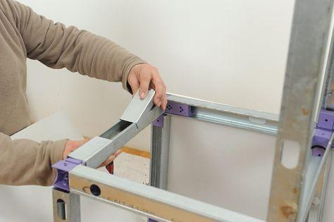 Meuble placo-25 Meubles Pinterest - fabriquer meuble en placo