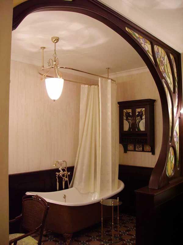 bathroom art nouveau happy home wohnideen. Black Bedroom Furniture Sets. Home Design Ideas