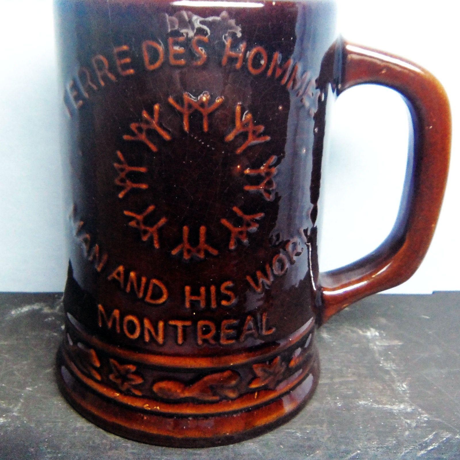 Beer Mug, Beauceware, Beer Stein, Montreal Expo 67