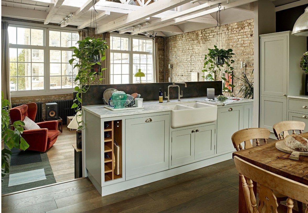 Pin de Sara S en DECO Kitchen  Loft, Decorar casas pequeñas, Deco