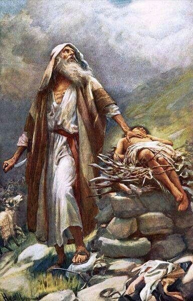 Abraham And Isaac Foreshadowed The Relationship And Sacrifice Of Jehovah God And His Son Jesus Bible Pictures Jesus Art Bible Art