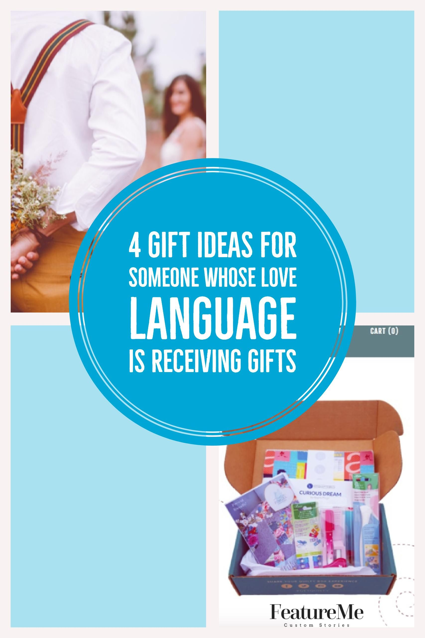 Four gift ideas for someone whose love language is