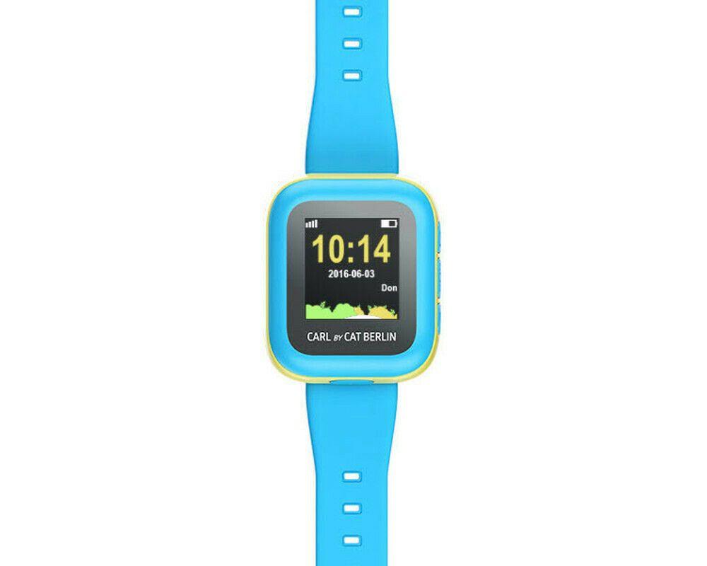 Ebay Sponsored Cat Carl Kids Tracker Smartwatch Verstellbar Silikon Blau Gebraucht Smartwatch Ebay Sportuhr