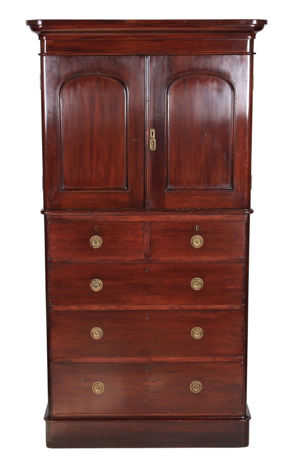 Bedroom cupboard on chest 430161 sellingantiquescouk