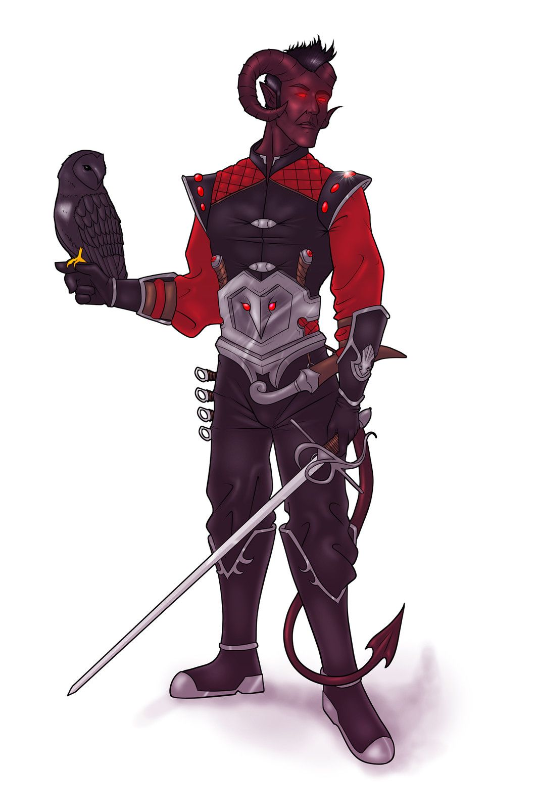 Pin by Matthew Bartlett on Tieflings in 2019 | Tiefling