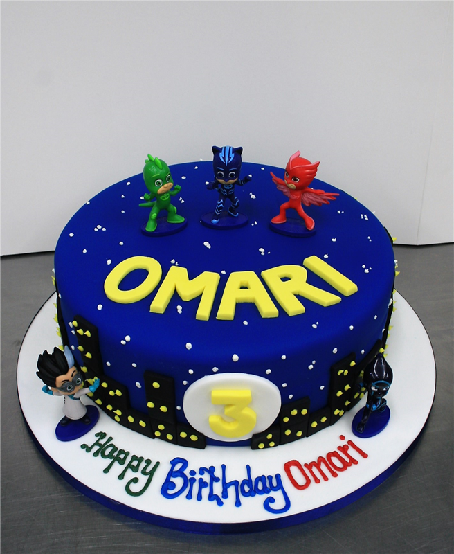 Image Result For Pj Masks Cake Ideas Birthday Party Treats