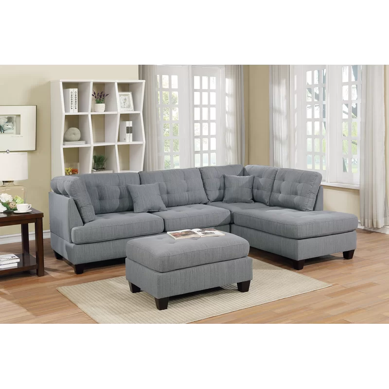 Tapscott 104 Reversible Sectional With Ottoman Sectional Sofa Couch Sectional Sofa Furniture