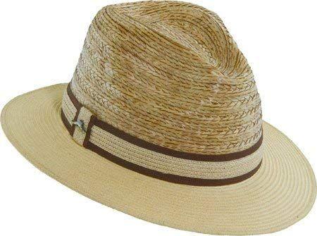 Tommy Bahama Men s Buri Braid Fedora With Braid Hat Review  f86e5c0f892