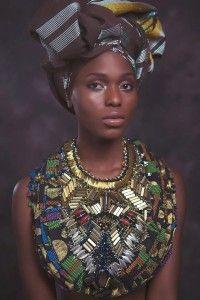 Breathtaking: Anita Quansah London SS14 | African Prints in Fashion