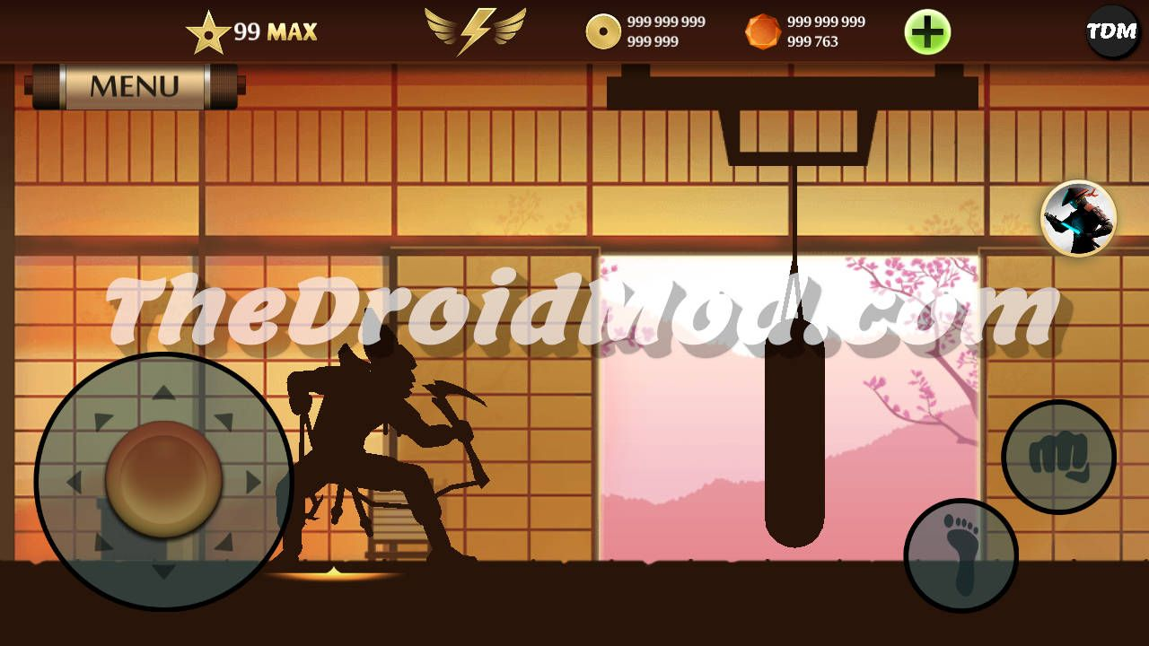 Pin On Shadow Fight 2 Max Level 99 Mod Apk