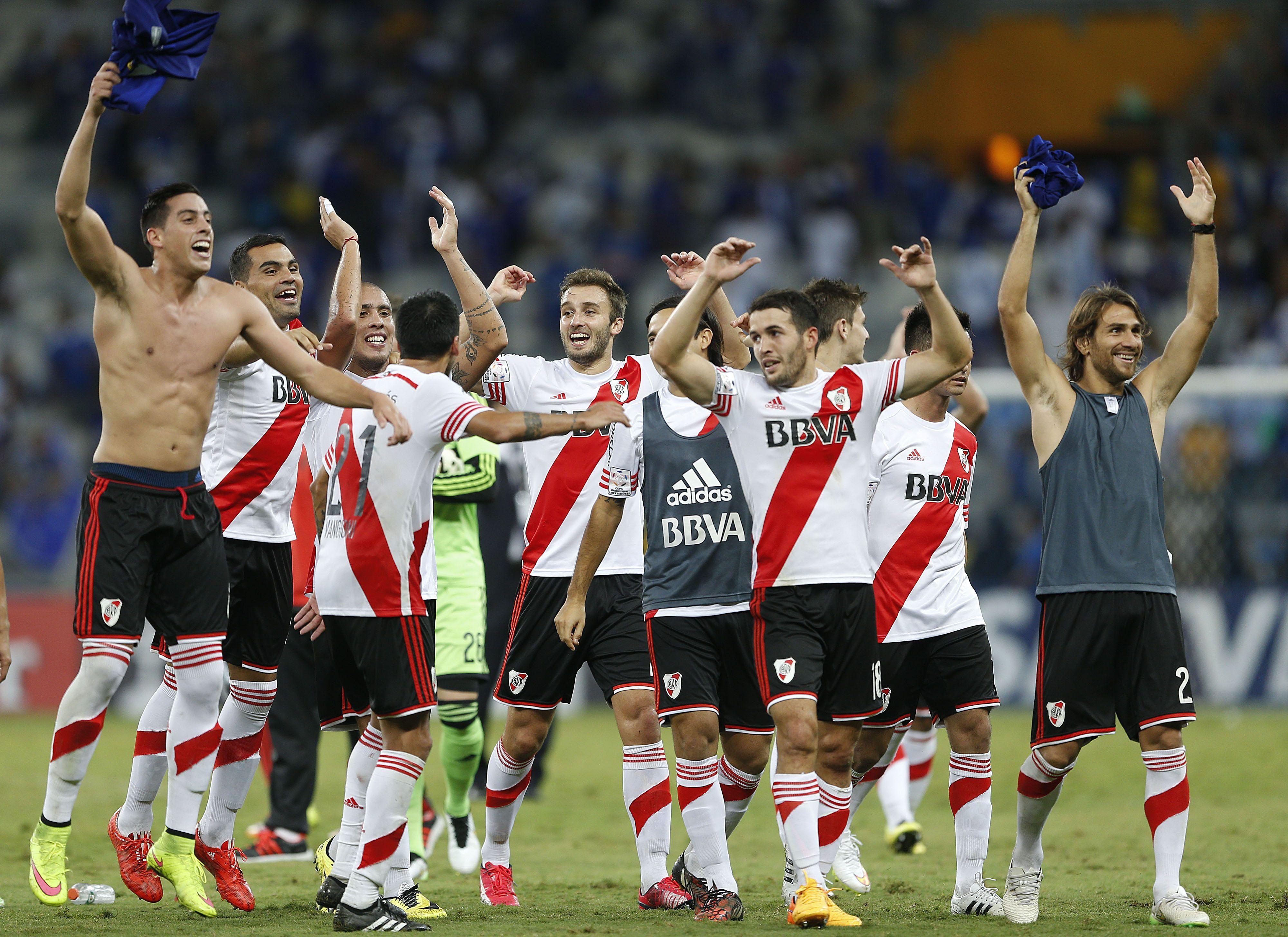 Festejemo' #River #Cruzeiro #Libertadores