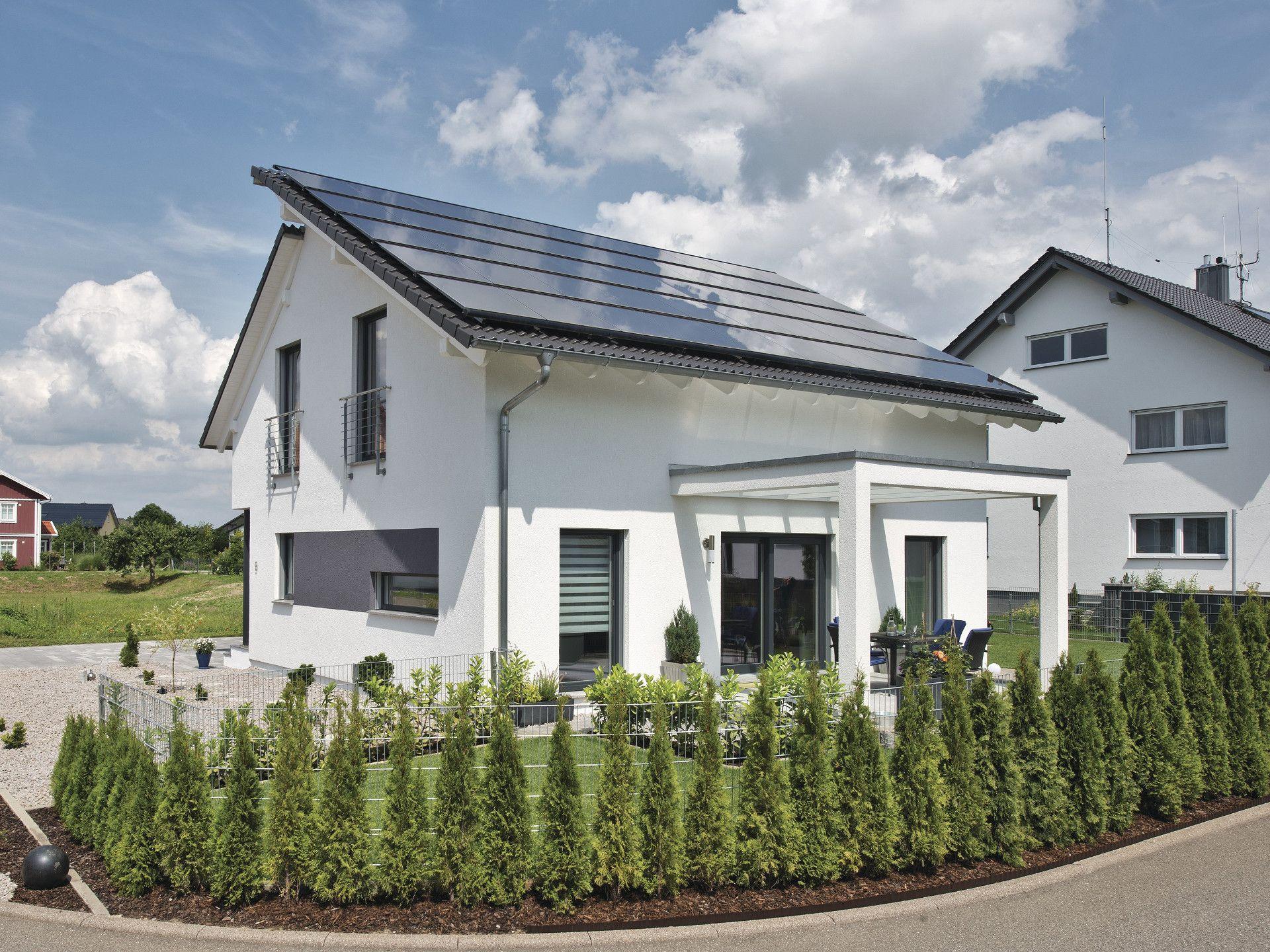 Generation5.5   Haus 200 U2022 Ausbauhaus Von WeberHaus U2022 Energieeffizientes  Fertighaus Mit Weißem Edelputz