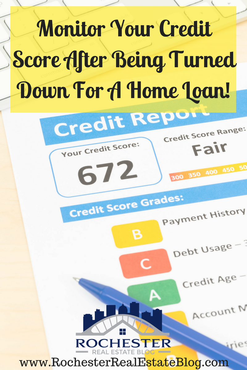 What Should I Do After Being Turned Down For A Home Loan Home Loans Loan Investment Property For Sale