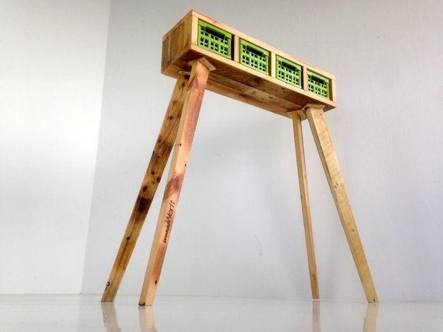"""Kisten & Boxen - """"Stiltboxes""""Möbel aus Palettenholz un... - ein Designerstück von Produktwerft bei DaWanda"""