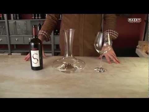 19 - Como decantar un vino