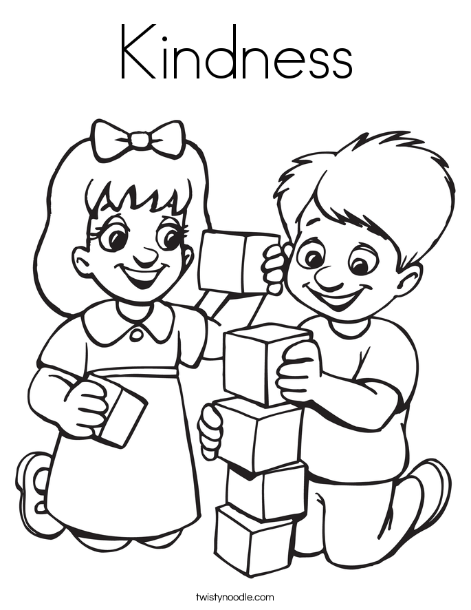 kindness-3_coloring_page.png (685×886) | Elementary School ...