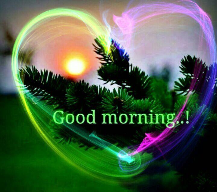 Beautiful Good Morning Heart
