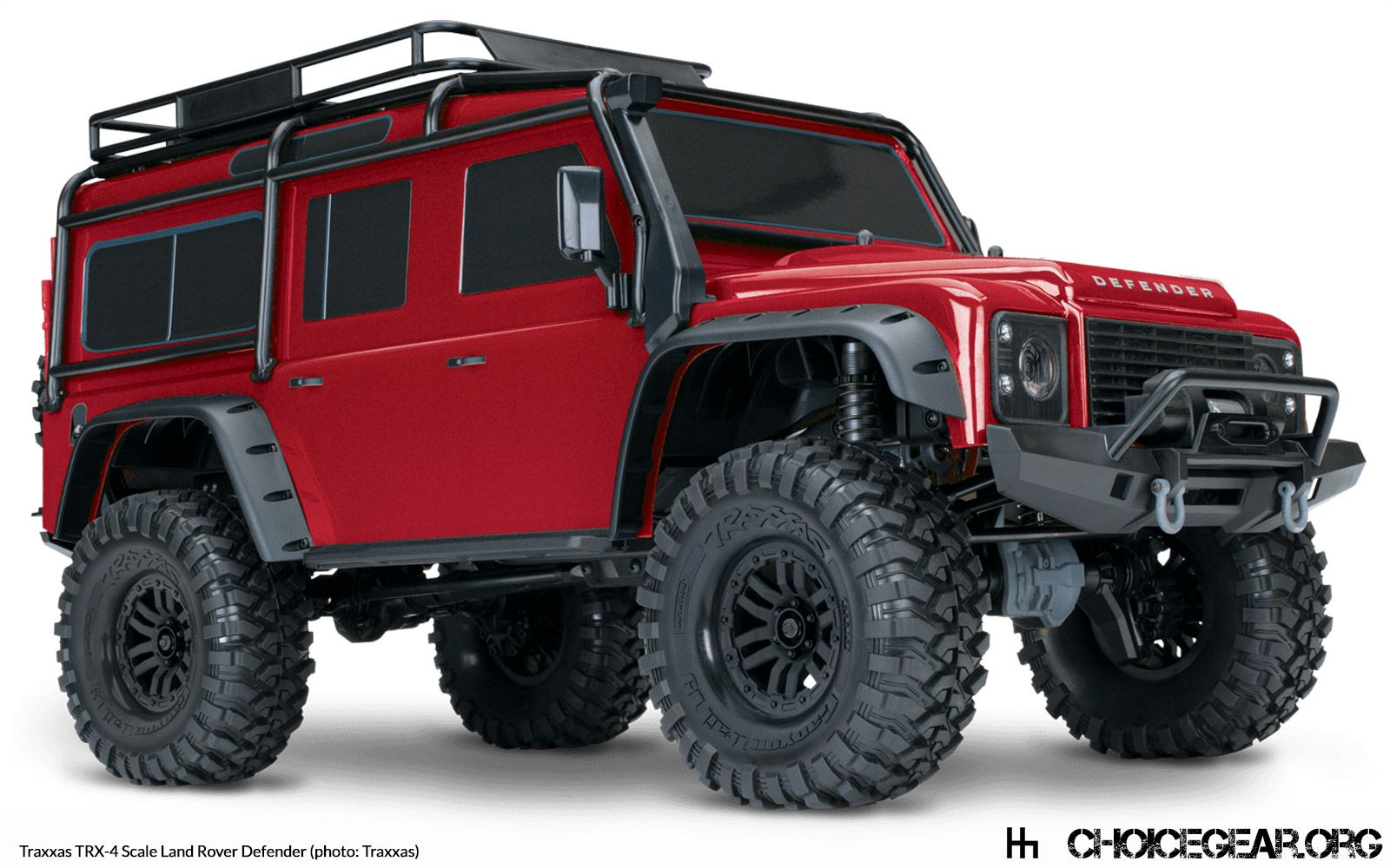 Rc Land Rover Defender 110 From Traxxas Land Rover Zashitnik