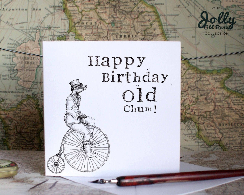 Funny Birthday Card For Him Hipster Birthday Card Cotswolds Etsy Funny Birthday Cards Dad Birthday Card Hipster Birthday