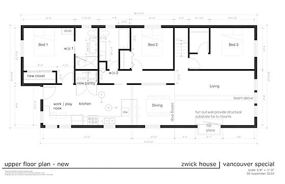 Zwick vancouver special after floor plans house for Vancouver house plans