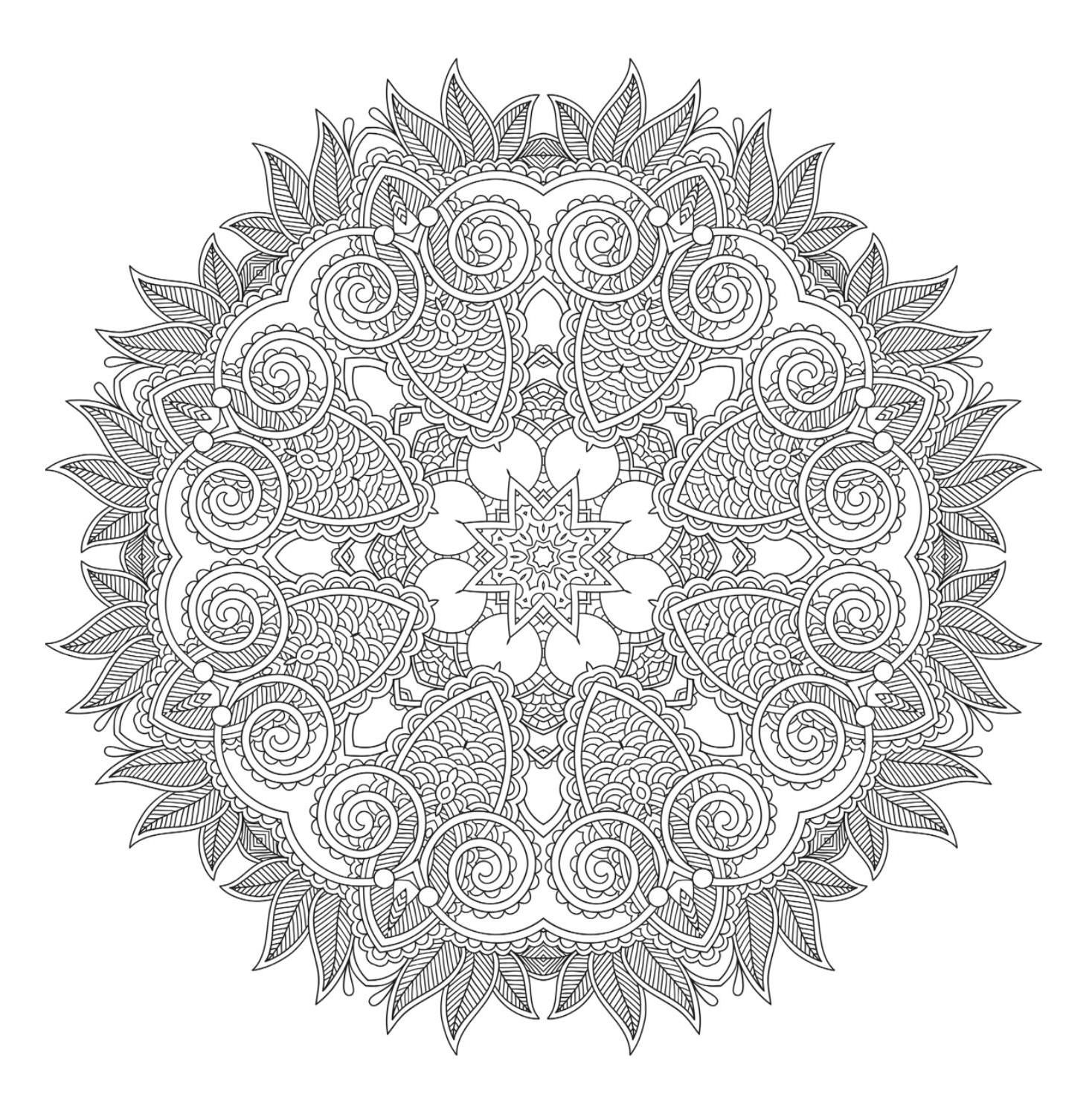 101 Mandalas The Big Coloring Book Mandala Coloring Books Coloring Books Skull Coloring Pages