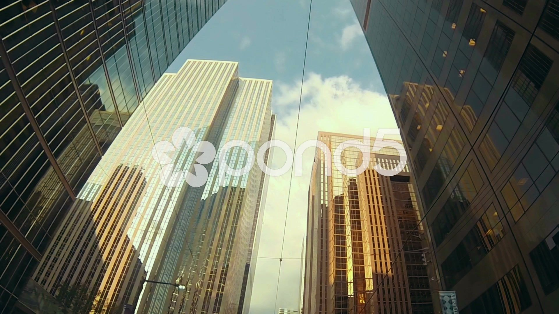 Skyscrapers And Buildings Of A Large City Banking And Financial District Stock Footage Large City Skyscrapers Buildin Financial District Bad Debt Skyscraper