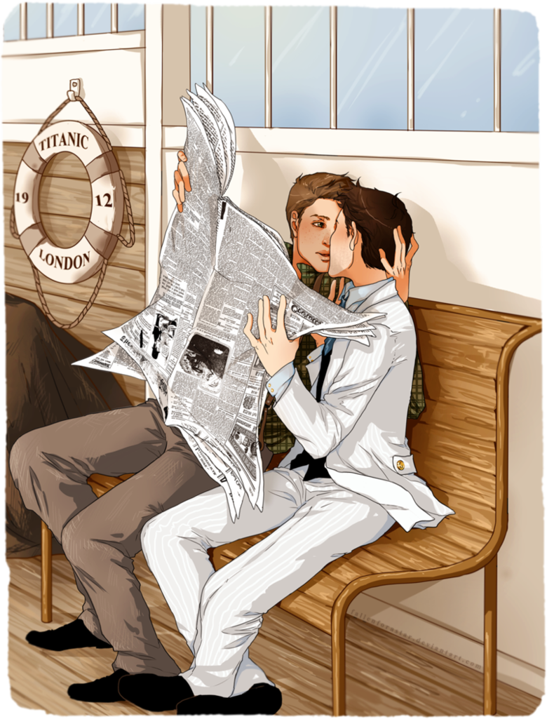 Dc Titanic Au No One S Gonna See By Nella Fantasiaa On Deviantart  # Muebles Titanic