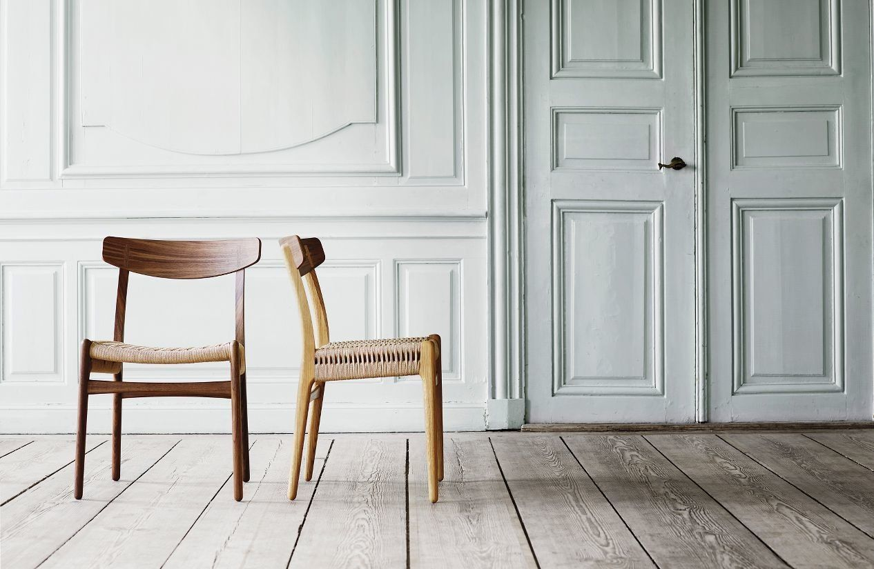 Hans Wegner Chairs Design Within Reach Girl Table And J Ch23 Side Chair By