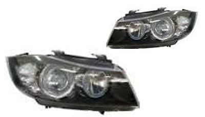 Bmw e90 saloon & #estate 3/2005-2007 #headlights angel eyes black #inner led 1 pa,  View more on the LINK: http://www.zeppy.io/product/gb/2/191823043335/