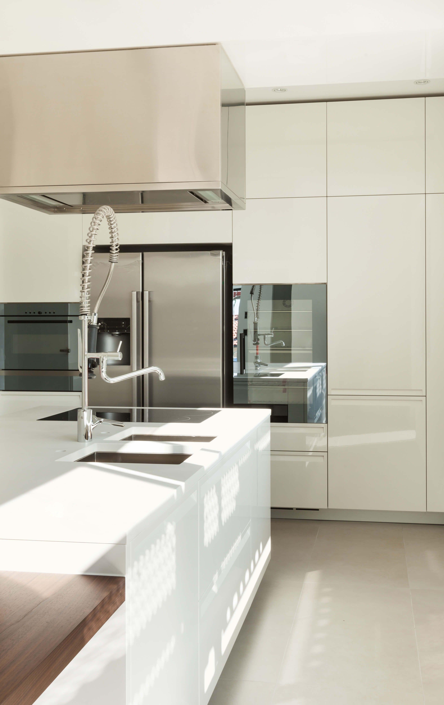 Küchendesign rot und weiß pin von sh auf küche  pinterest  küchen design küche beige und dekor