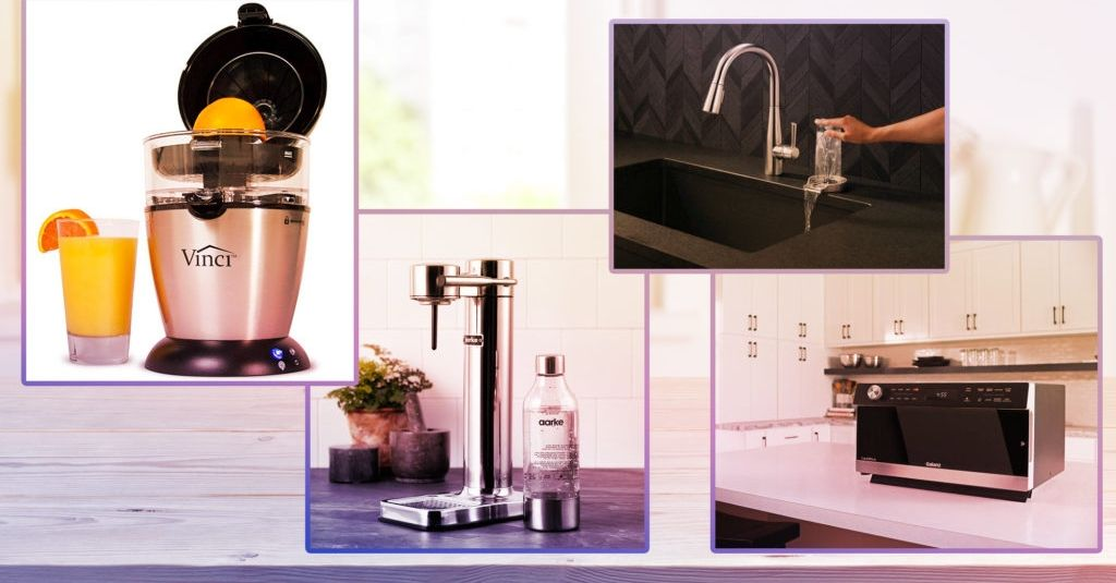 4 Snazzy Kitchen Counter Appliances That Will Totally Make Your