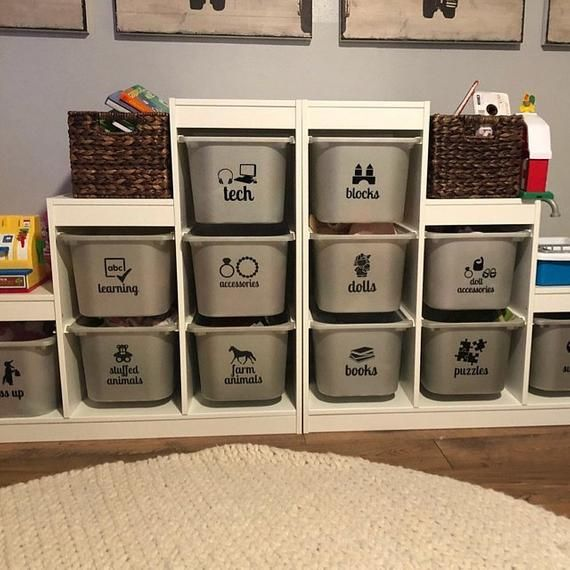 toy storage labels (word + picture) // bin labels // toy labels // toy storage // toy organization / images