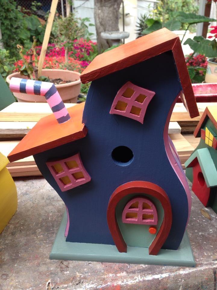 crazy birdhouse doug welch 39 s woodworking pinterest vogelh user vogelfutter und basteln. Black Bedroom Furniture Sets. Home Design Ideas