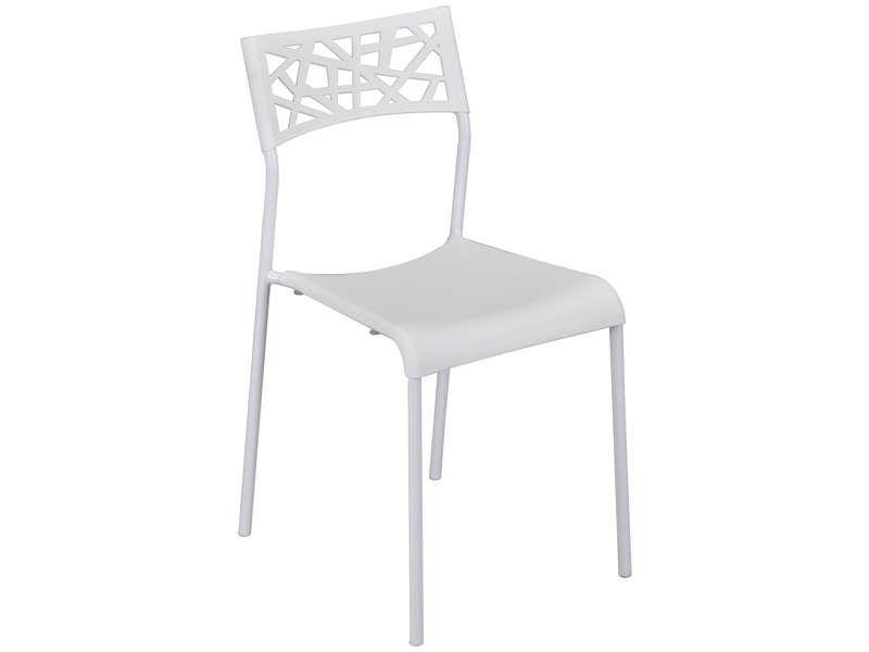 Chaise Martine Coloris Blanc Vente De Chaise Conforama En 2020 Chaise Conforama Blanc