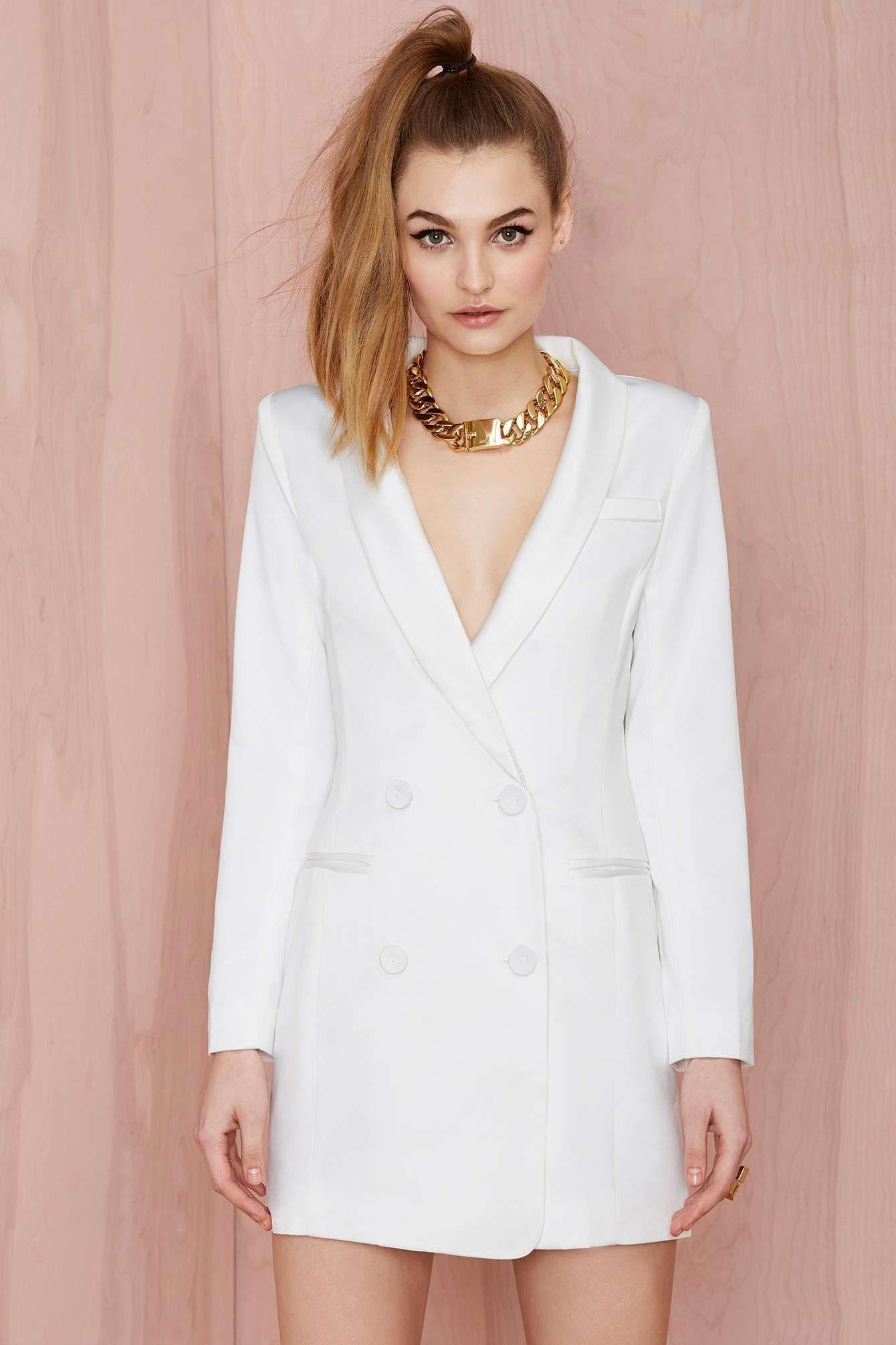 Line Dot Angelina Tuxedo Dress White Tuxedo Dress Tuxedo Dress White Women Dress Online [ 2010 x 1340 Pixel ]